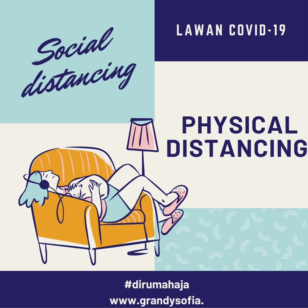 sosial dan physical distancing cegah corona