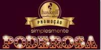 Promoção Simplesmente Poderosa Haskell Cosmética Natural promohaskell.com.br