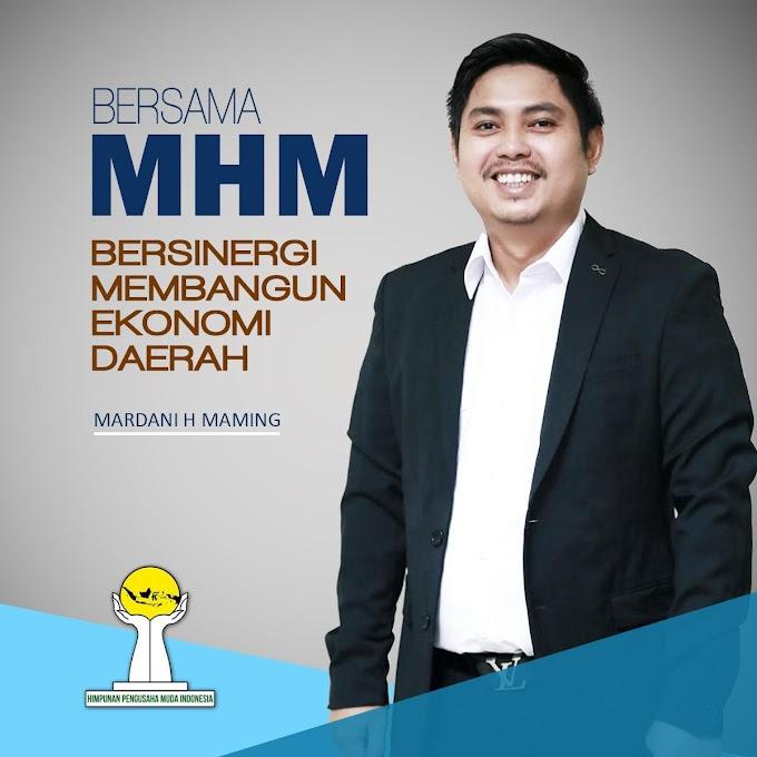 Mardani H Maming Dinilai Pantas Pimpin BPP HIPMI Periode 2019-2022