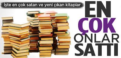 çok satan kitaplar, best sellers