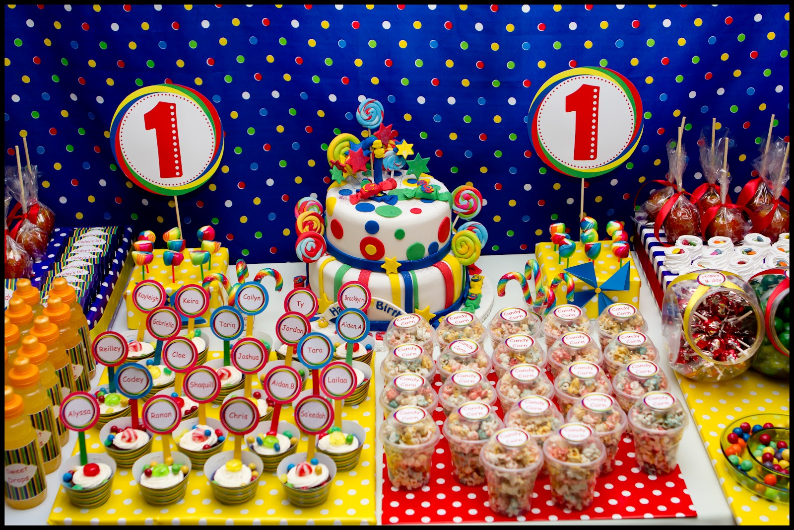 Candyland First Birthday Party