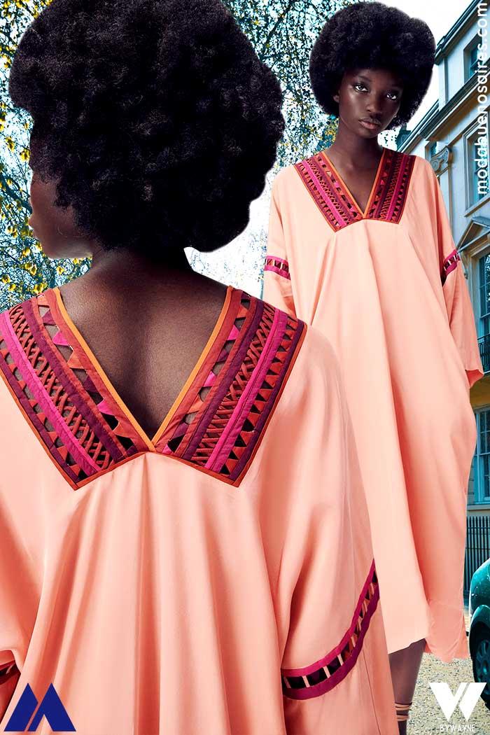 vestido tipo tunica verano 2022