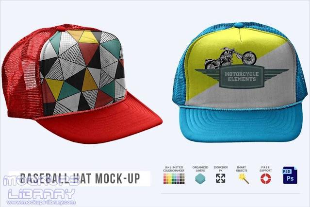 Baseball Hat Mockup Templates