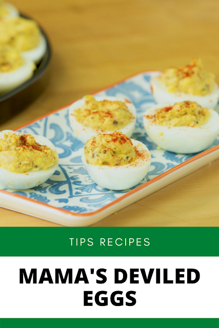 ✓ Mama's Deviled Eggs Recipe