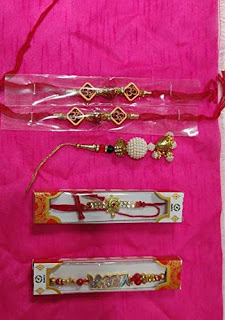 Rakhi for Brother with Chocolate Gifts