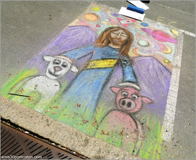 Cristo Chalk on the Walk en la MayFair 2016