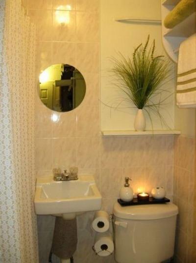 Decora el hogar decoraci n de peque os ba os for Decoracion de banos modernos y pequenos