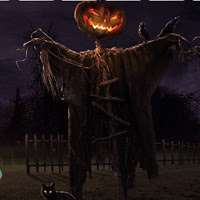 BigEscapeGames-Halloween Pumpkin Haunted Forest Escape