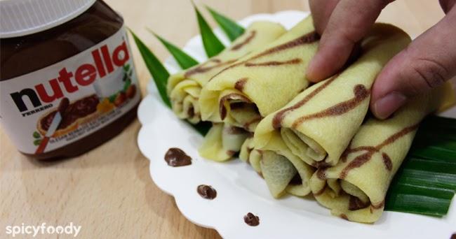 resep dadar gulung nutella spicyfoody   indonesian