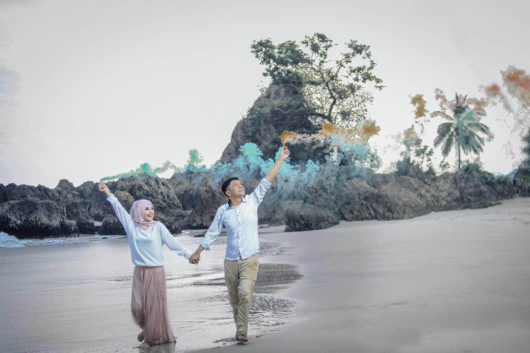 Lokasi Pantai Marina Lampung