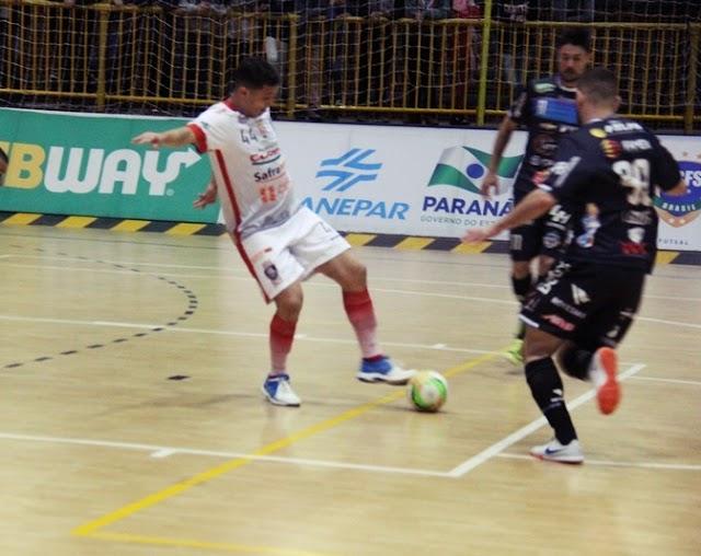 Liga Sul proporciona grandes jogos e fortalece o futsal mourãoense