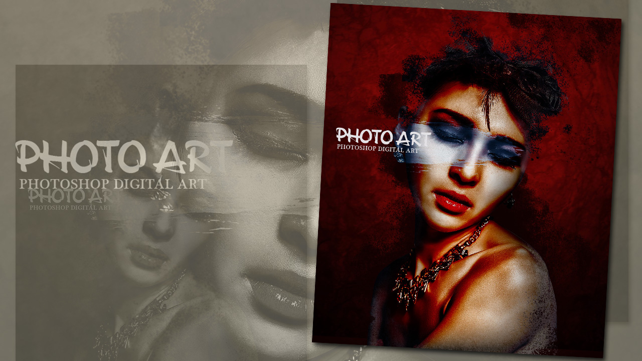 Create Cool Photo Art Effects Photoshop CC Tutorial