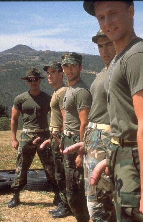 Big dick army men consider