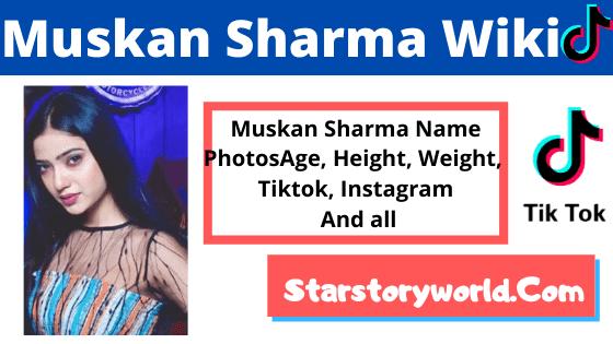 Muskan Sharma Wiki
