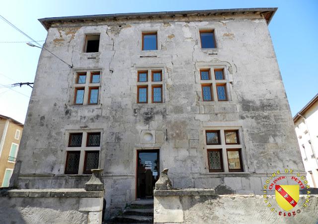 SAMPIGNY (55) - La Maison seigneuriale (XVIIe siècle)