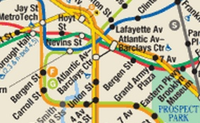 Brooklyn Mta Subway Map.Sloppy Mta Updates Subway Maps To Include Barclays Center And