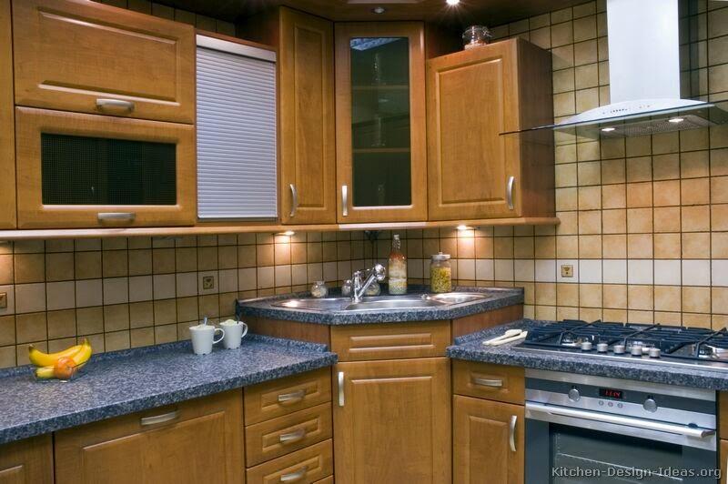 Corner Kitchen Sink Design Ideas | Interior Design Living Room