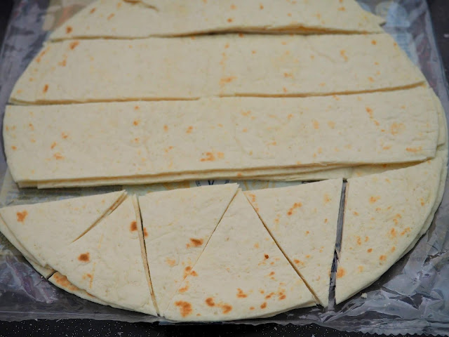 Przekąska z tortilli