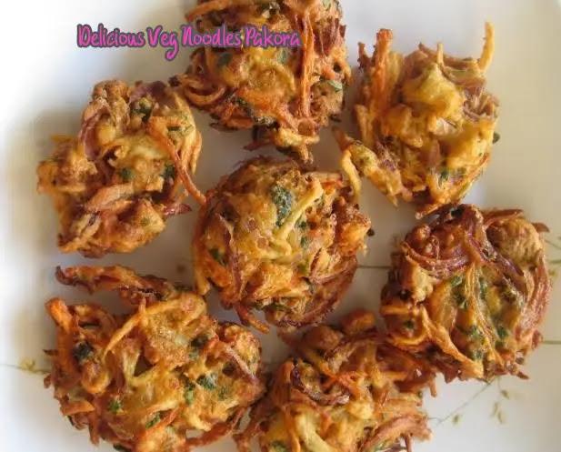 Delicious Veg Noodles Pakora – Veg Choumin Pakora