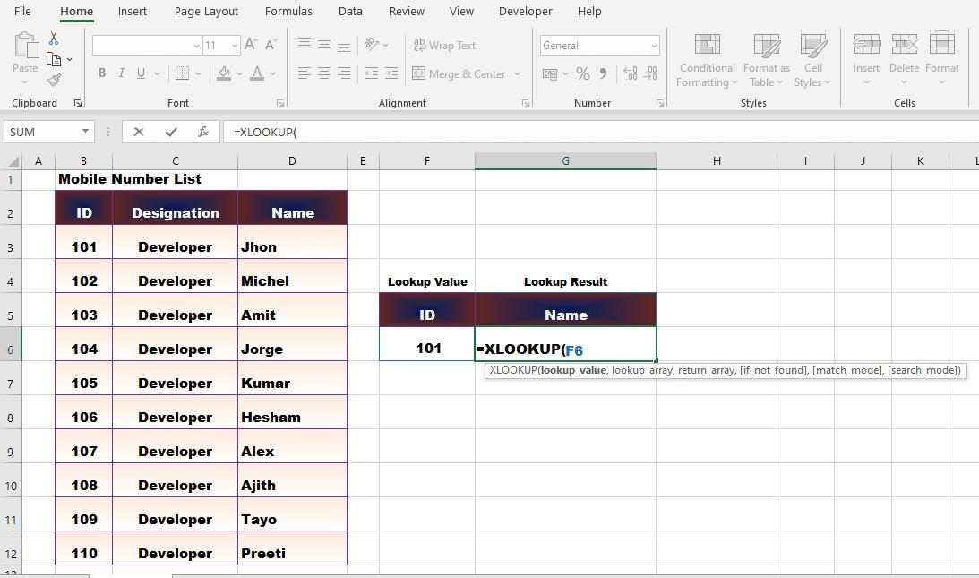एक्सेल का नया XLOOKUP Function अब आम तौर पर उपलब्ध हो गया है।