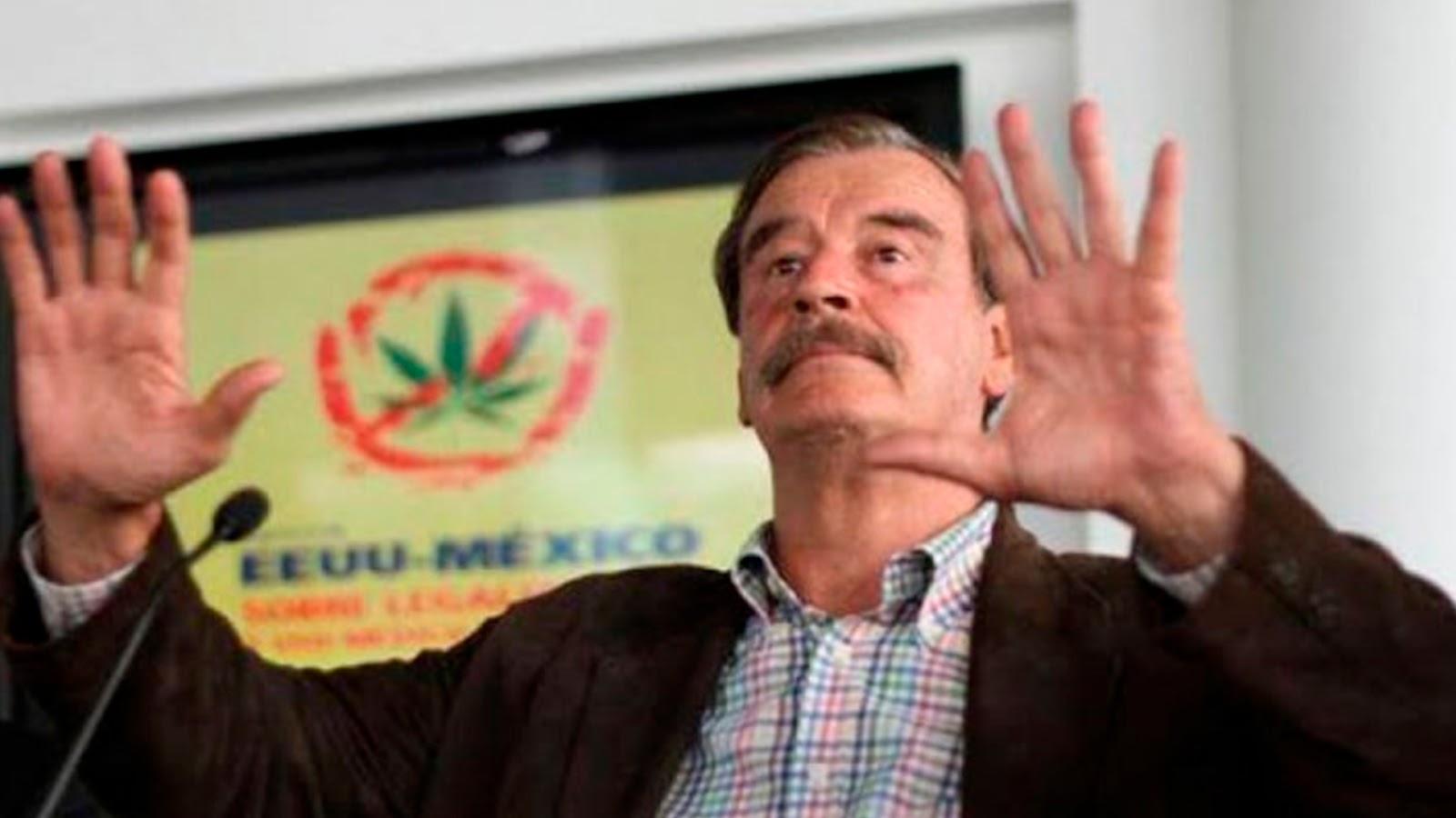 """""""Uy qué miedo, mira cómo estoy temblando"""", se burla Vicente Fox de AMLO."""