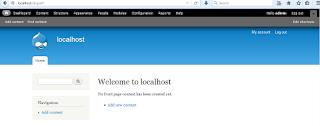 Gambar contoh tampilan website drupal