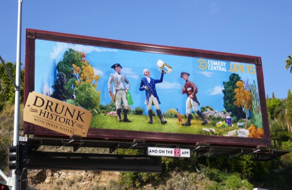 Drunk History season 6 billboard