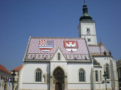 zagreb iglesia san marcos