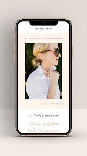 Flodesk image email marketing for teacherpreneaurs