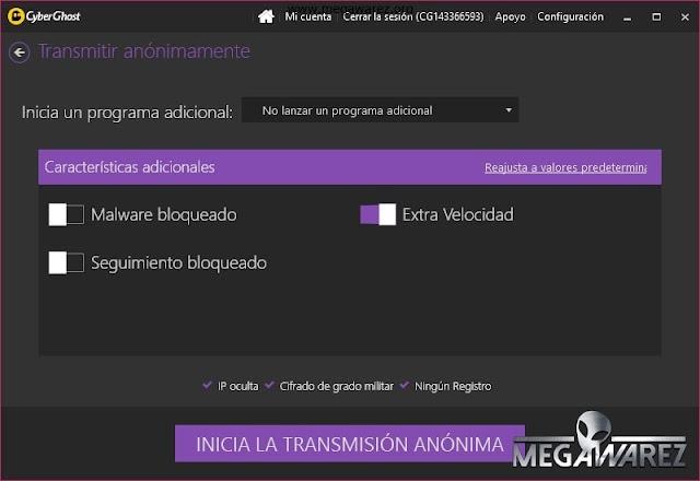 CyberGhost VPN 6 imagenes
