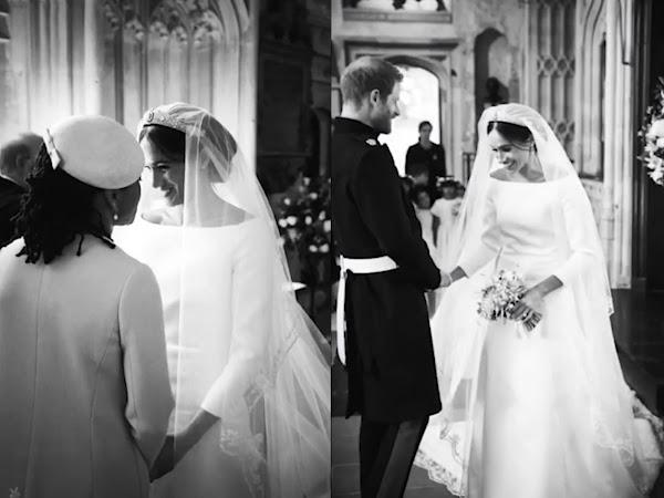 Nowe zdjęcia ślubne księżnej Meghan i księcia Harry'ego.