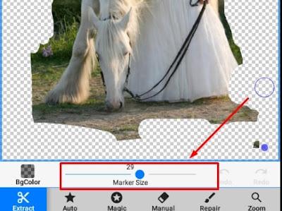 Aplikasi Background Erased