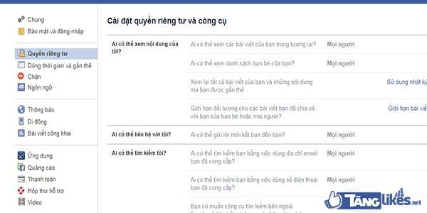 cach bat cong khai nguoi theo doi facebook 2