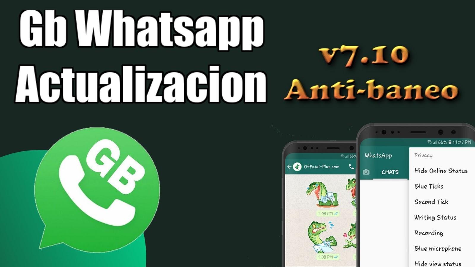 Ati Tecnology Gbwhatsapp V710 Anti Baneo 100