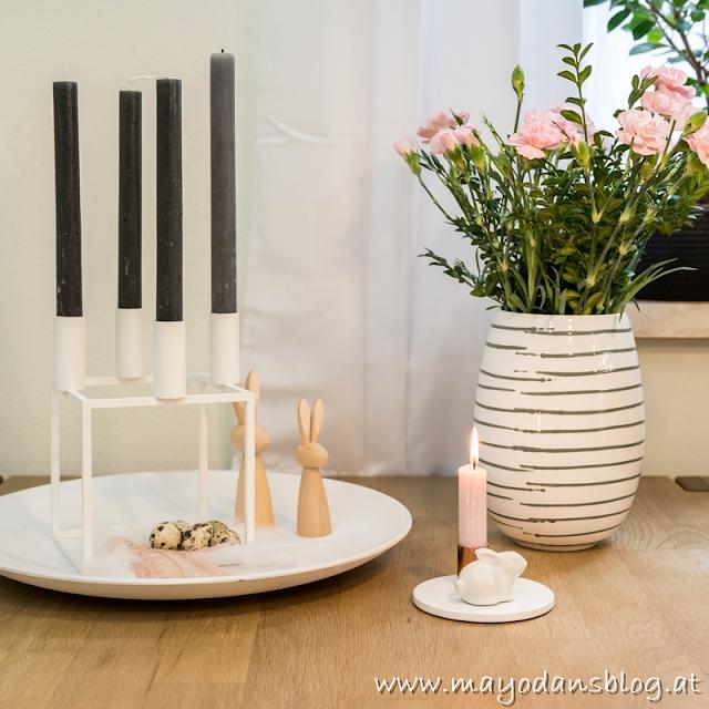 DIY Osterhasenkissen mit der Strickliesel