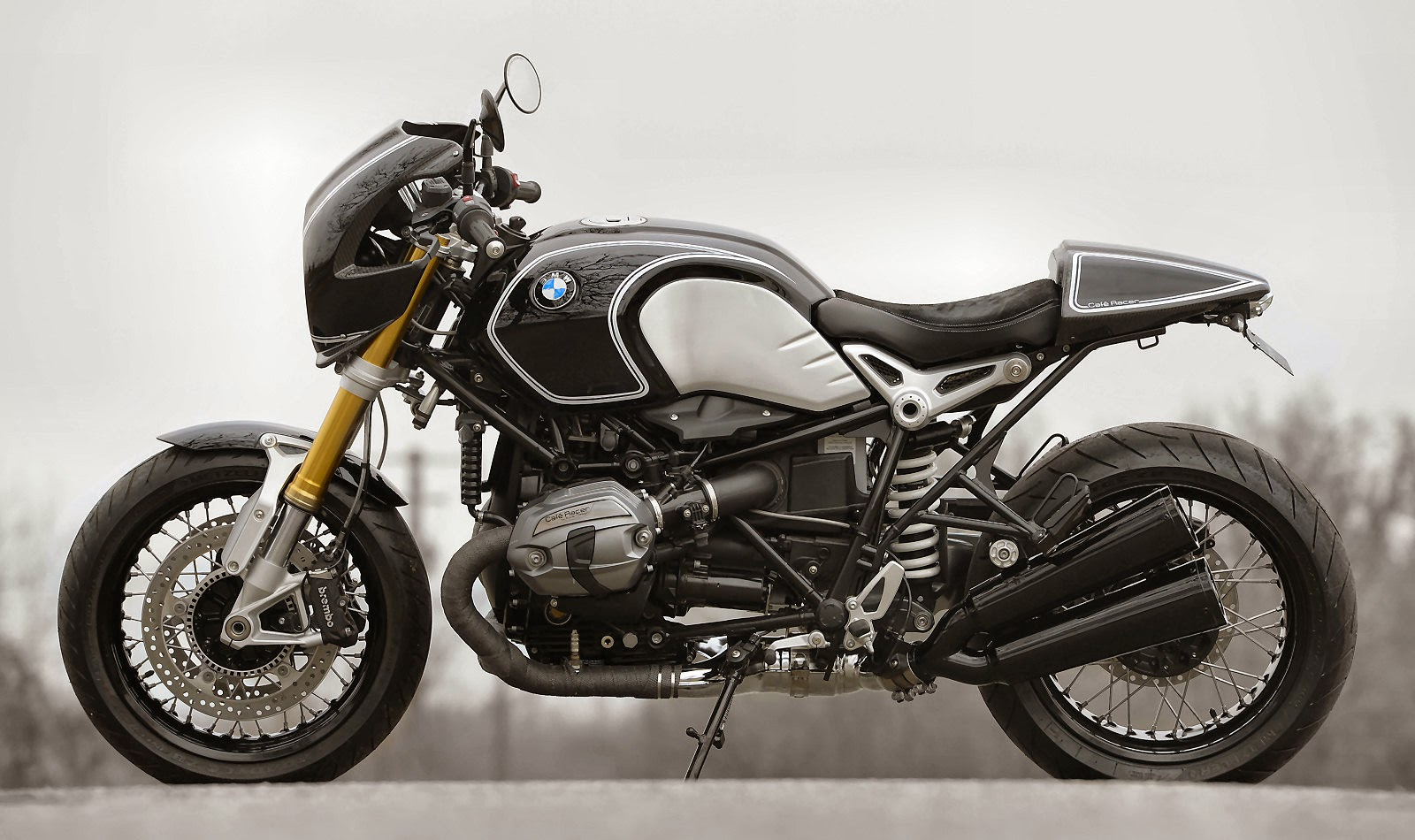racing caf bmw r ninet caf racer by boxer design. Black Bedroom Furniture Sets. Home Design Ideas
