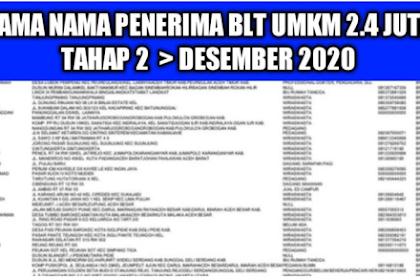 AKHIRNYA Update Daftar Penerima BLT UMKM Rp2,4 Juta Tahap 2 Seluruh Indonesia 2020, Cek Link eform.bri.co.id/bpum