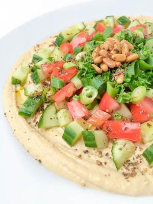 7 Layer Lebanese Hummus Dip