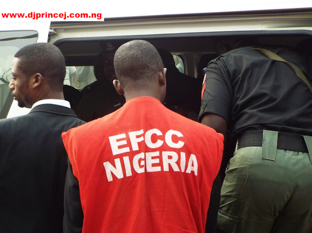 EFCC Arrest Woman, Eight Suspected Fraudsters