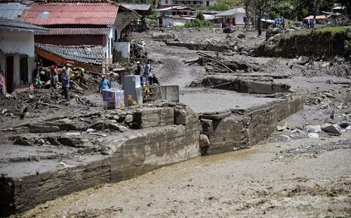 colombia landslide news