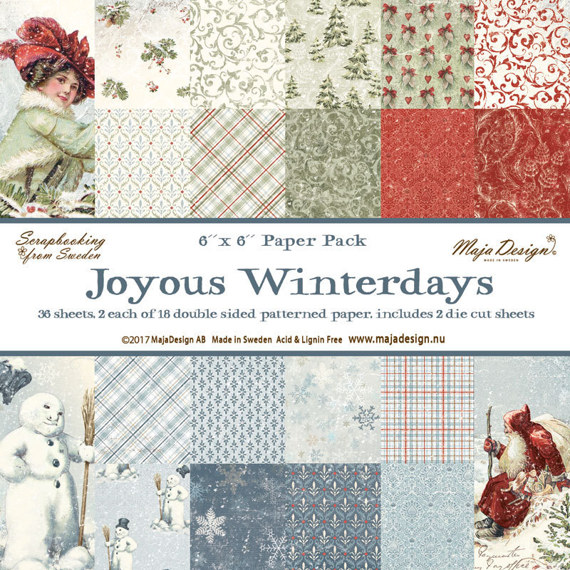 Maja Design - Joyous Winterdays 6x6