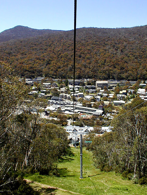 Thredbo. Snowy Mountains, New South Wales. Australia. Photograph by Simon Brand.