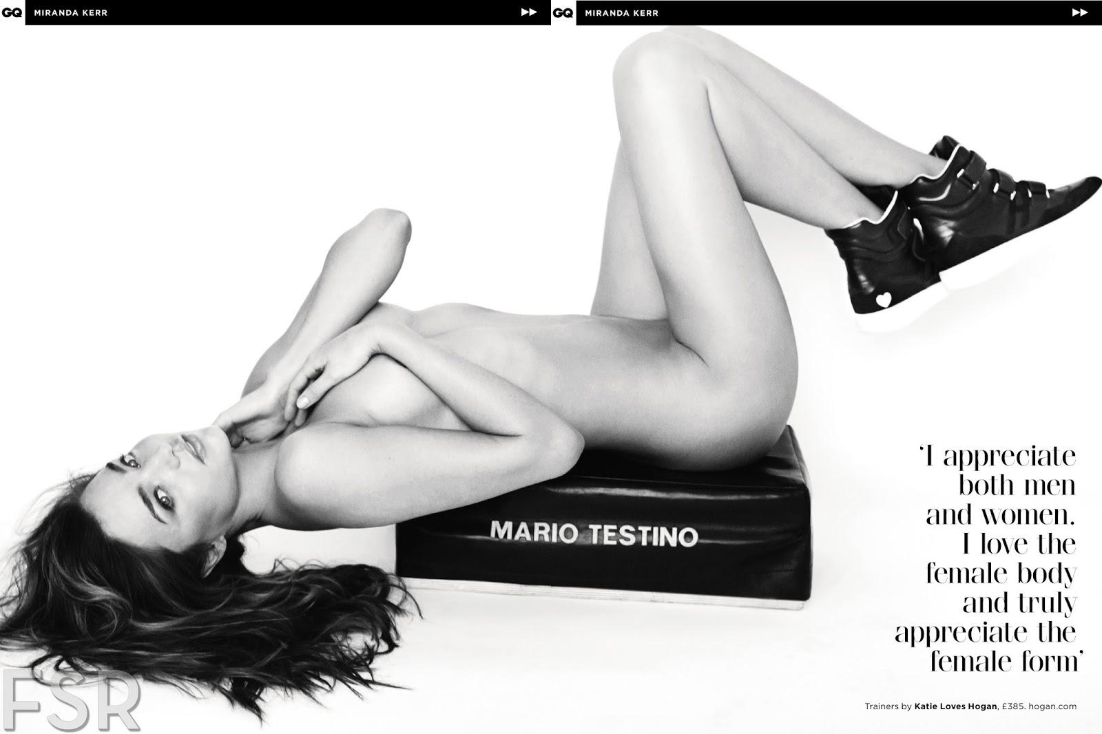 miranda kerr by mario testino for uk gq may 2014 | visual