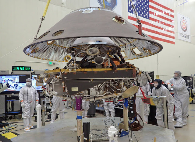 Latest News Insight Mars Lander Saved from Termination, Reset to 2018 Blastoff