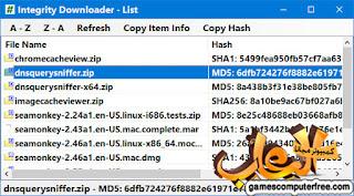 Integrity Downloader