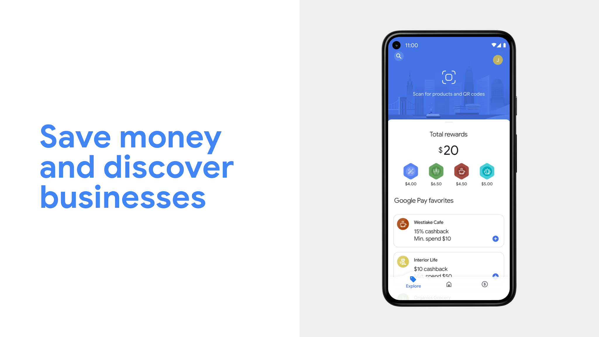 Save money and discover businesses