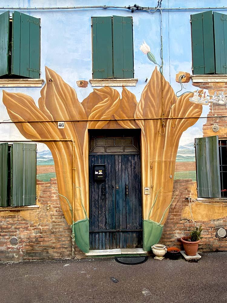 Le porte più colorate d'Italia