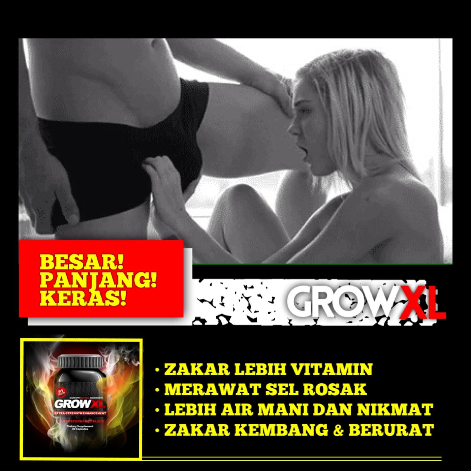 Grow XL : Suppliment Membesarkan Dan Memanjangkan Zakar