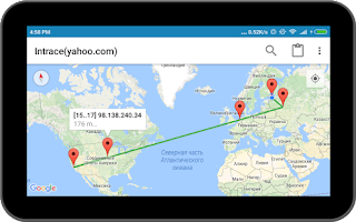 Intrace – Visual traceroute Apk v1.94 Pro [Latest]
