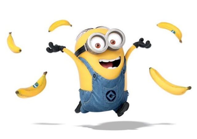 Minions Throwing Bananas HD Wallpapers